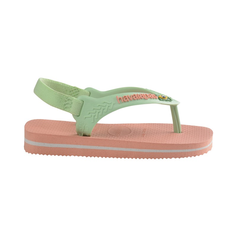 40d8868a53ff6 Tong Havaianas Baby Brasil Logo - Galerie-Chic