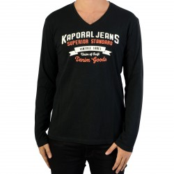 Tee-Shirt Manches Longues Kaporal Farto