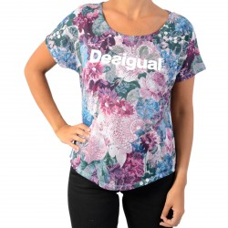 Tee-Shirt Desigual Oversize Art & Thread