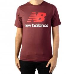 Tee Shirt New Balance Essentials Stacked