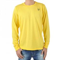T-Shirt Diesel Temialong Service jaune