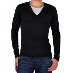 T-Shirt Japan Rags Grenat Noir