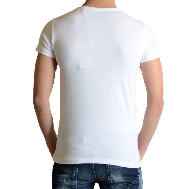 7bbabadfb0e3b Tee Shirt Pepe Jeans Enfant Abbott Blanc - Galerie-Chic