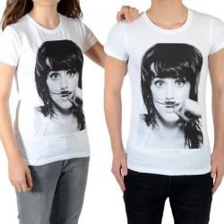 Tee Shirt Little Eleven Paris Perry SS Mixte (Garçon / Fille) Katy Perry Blanc