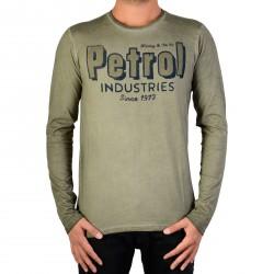 Tee Shirt Petrol Industries TLR723 011 Dark Chalk