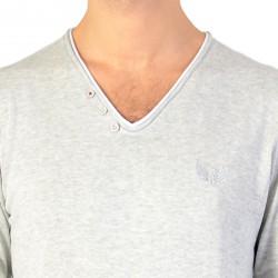 Tee Shirt Kaporal Kerin Grey Mel
