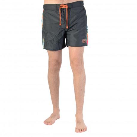 Short de bain Armani EA7 Sea World Bw Surf M Boxer 2 902001 6P743 00020 Black