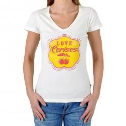 T-Shirt Le Temps Des Cerises Daguette Blanc Cassé