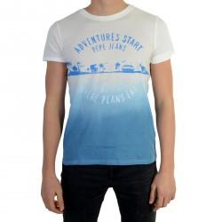 Tee Shirt Pepe Jeans Enfant Jerry Azzuro
