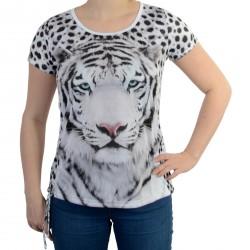 Tee Shirt Desigual Laces Blanco