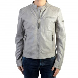 Blouson Cuir Redskins Casting Willow Cement