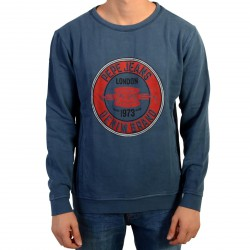 Sweat Pepe Jeans Enfant Siro JR Ocean