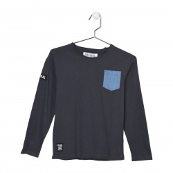 Tee Shirt Kaporal Enfant Nazir Titanium
